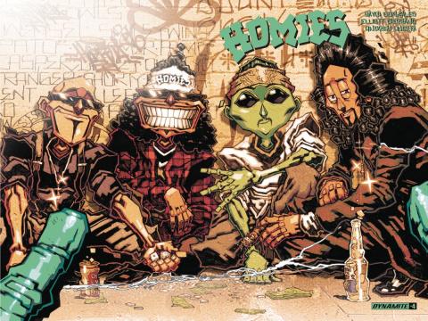 Homies #4 (Huerta Cover)