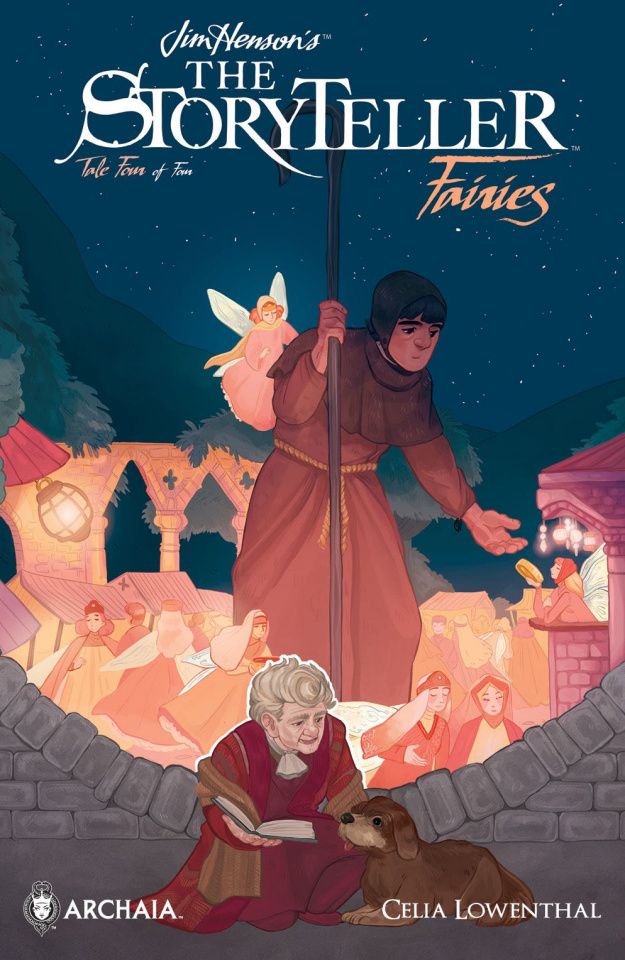 The Storyteller: Fairies #4 (Subscription Milled Cover)