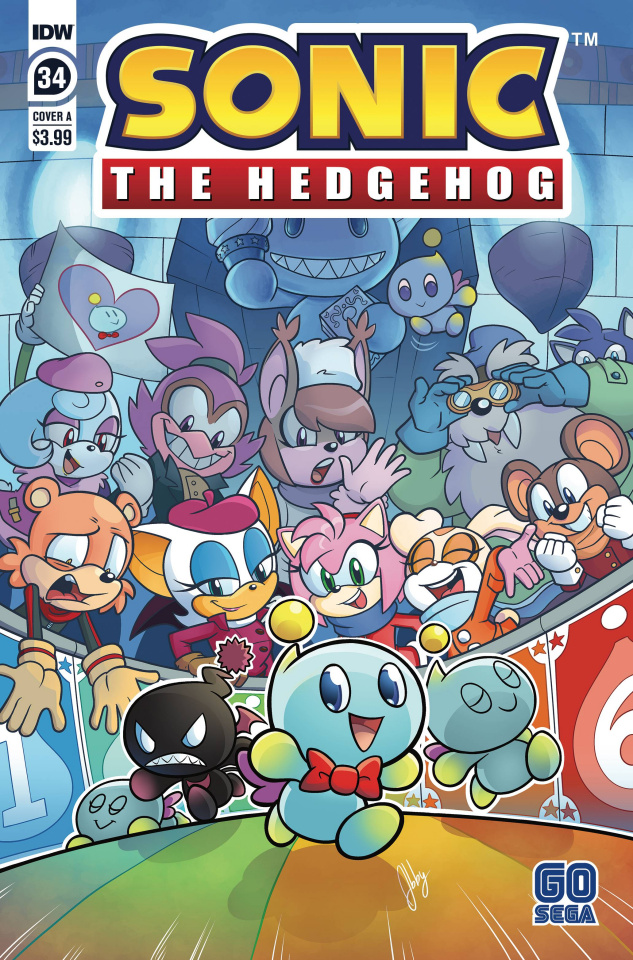 Sonic the Hedgehog #34 (Bulmer Cover)