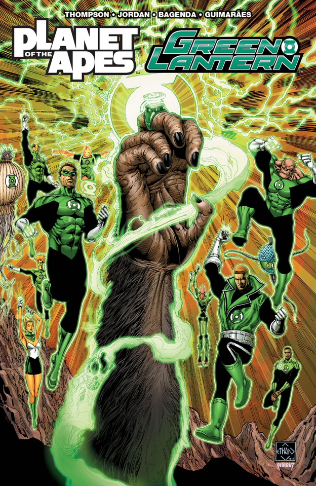 The Planet of the Apes / The Green Lantern