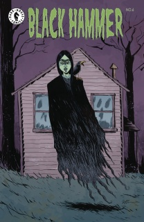 Black Hammer #6 (Lemire Cover)