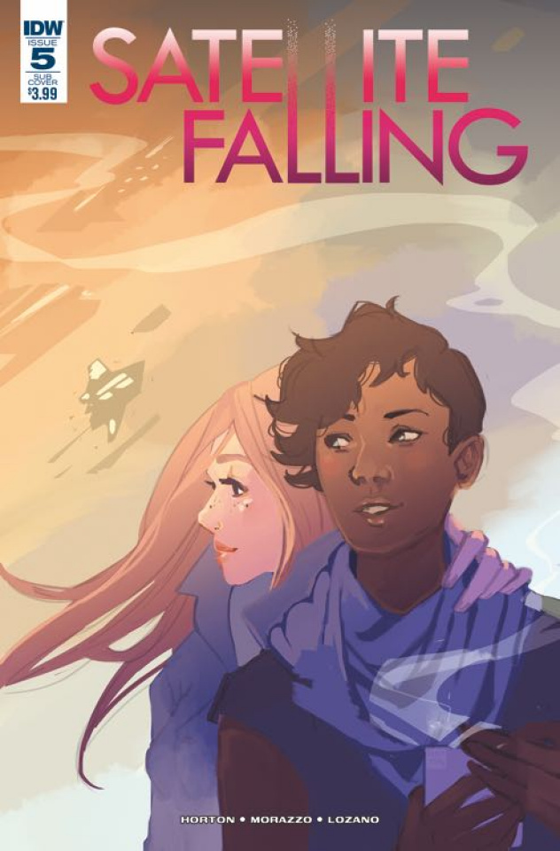 Satellite Falling #5 (Subscription Cover)
