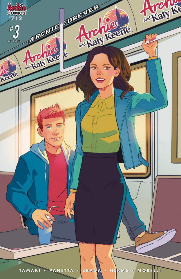 Archie #712: Archie & Katy Keene Pt. 3 (Zarcone Cover)