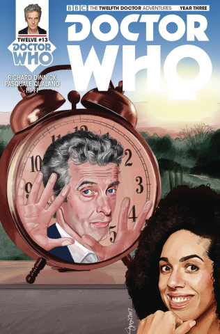 Doctor Who: New Adventures with the Twelfth Doctor, Year Three #13 (Myers Cover)