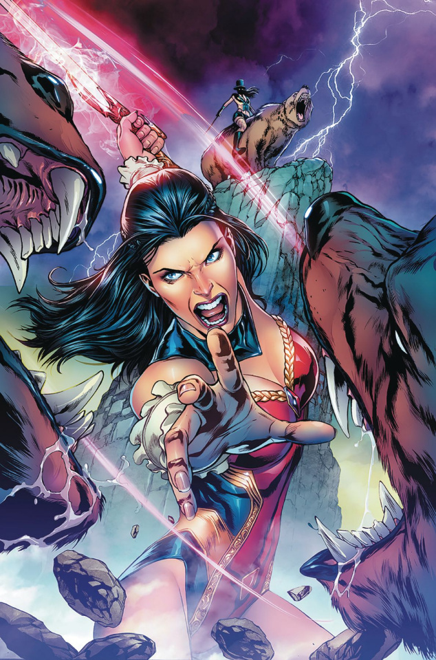 Grimm Fairy Tales #27 (Vitorino Cover)