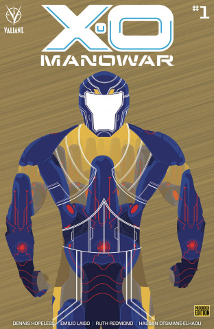 X-O Manowar #1 (250 Copy Bronze Cover)