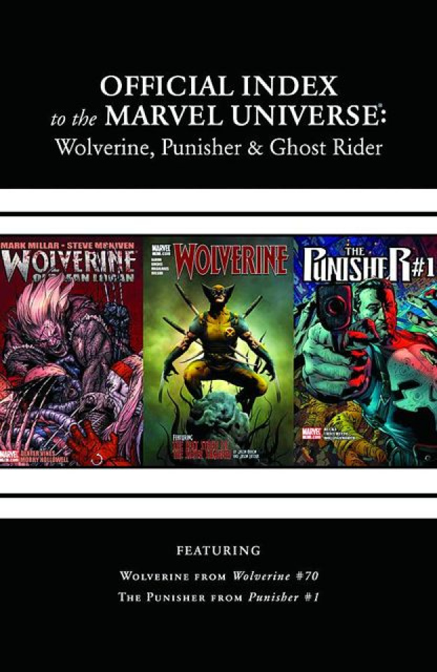 The Official Index to the Marvel Universe: Wolverine, Punisher & Ghost Rider #8