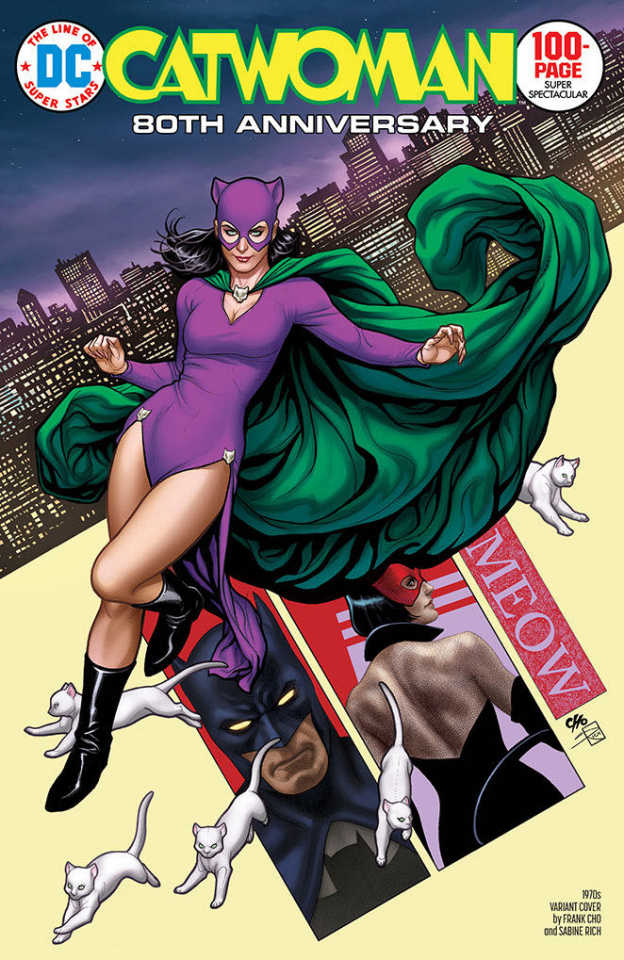 Catwoman 80th Anniversary 100 Page Super Spectacular #1 (1970s Frank Cho Cover)