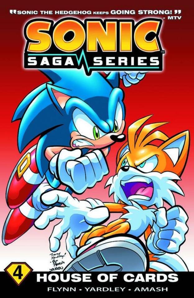 Sonic Saga Vol. 4: House of Cards