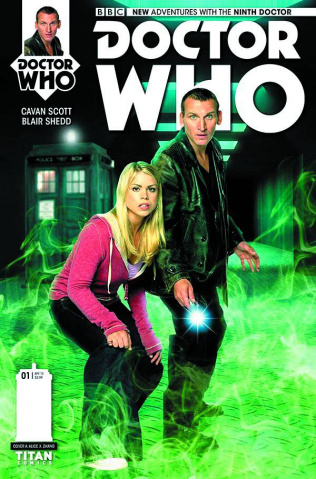 Doctor Who: New Adventures with the Ninth Doctor #1 (Subscription Cover)