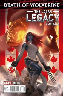Death of Wolverine: The Logan Legacy #6 (Canada Cover)