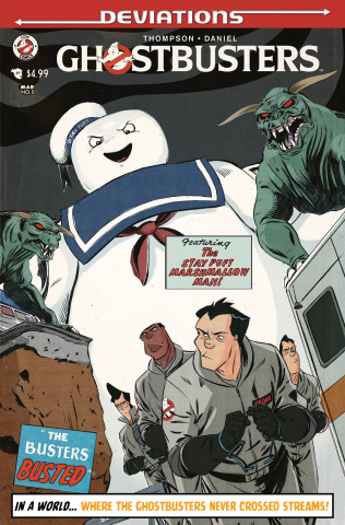 Ghostbusters: Deviations (Subscription Cover)