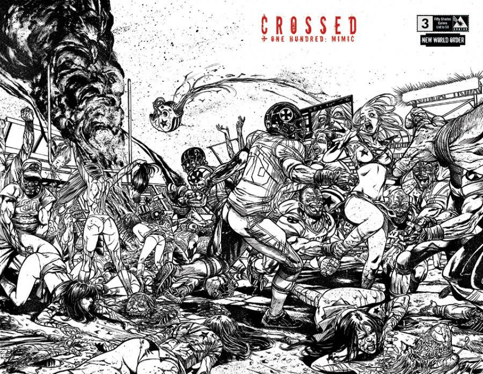 Crossed + One Hundred: Mimic #3 (NWO 50 Shades Calero Cover)