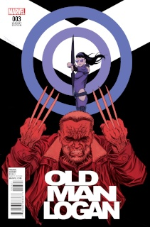 Old Man Logan #3 (Shalvey Cover)