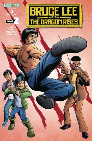 Bruce Lee: The Dragon Rises #2 (McKinney Cover)