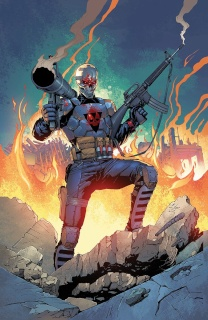 Death Force #5 (Salazar Cover)