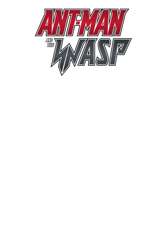 Ant-Man and The Wasp #1 (Blank Cover)