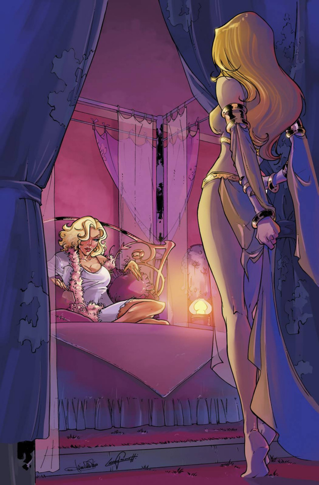 Grimm Fairy Tales: Goddess Inc. #2 (Valentino Cover)
