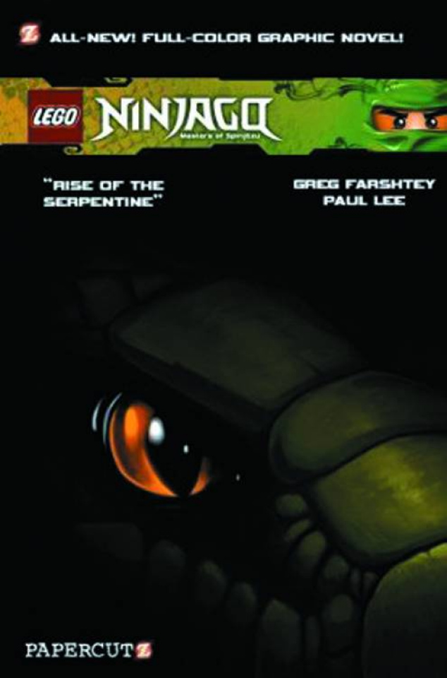 Ninjago Vol. 3: Rise of the Serpentine