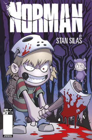 Norman: The First Slash #5 (Browne Cover)