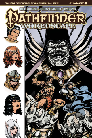 Pathfinder: Worldscape #3 (Mandrake Cover)