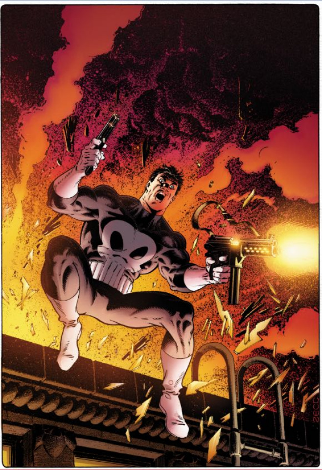The Punisher #3 (Zeck Remastered Cover)