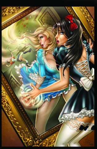 Grimm Fairy Tales: Wonderland - Down the Rabbit Hole #3 (McTeigue Cover)