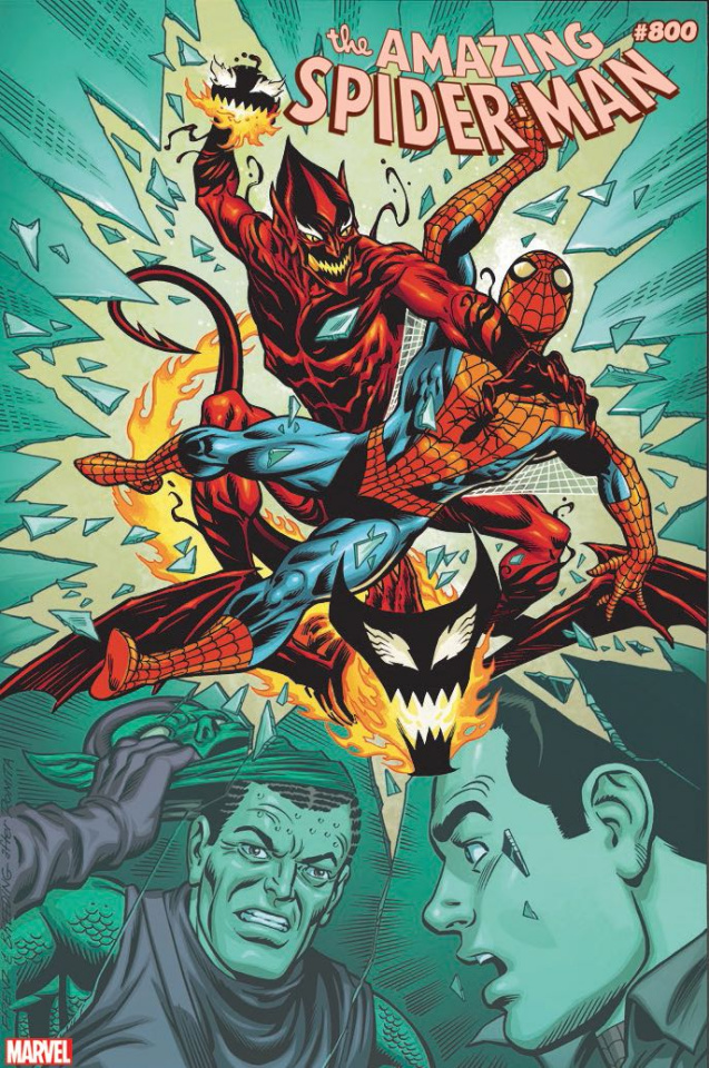 The Amazing Spider-Man #800 (Frenz Cover)