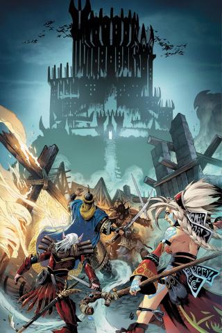 Pathfinder: Runescars #1 (Ultra Limited Lau Virgin Cover)