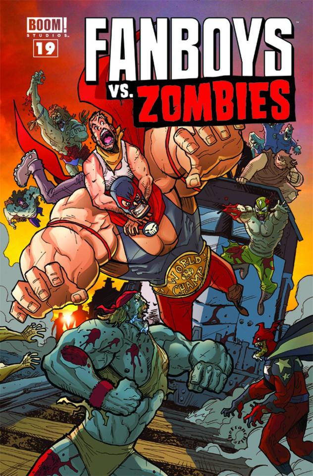 Fanboys vs. Zombies #19