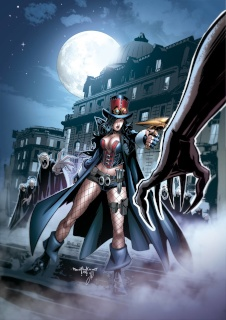 Grimm Fairy Tales: Van Helsing #6: 10th Anniversary Special (Qualano Cover)