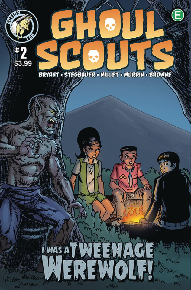 Ghoul Scouts: I Was a Tweenage Werewolf! #2
