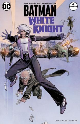 Batman: White Knight #4 (Variant Cover)