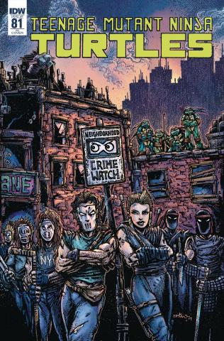 Teenage Mutant Ninja Turtles #81 (10 Copy Cover)