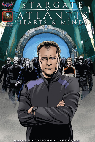 Stargate Atlantis: Hearts & Minds #3 (Larocque Cover)