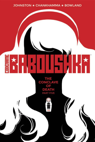 Codename Baboushka: The Conclave of Death #5 (Chankhamma Cover)