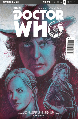 Doctor Who: The Lost Dimension #1 (Laclaustra Cover)