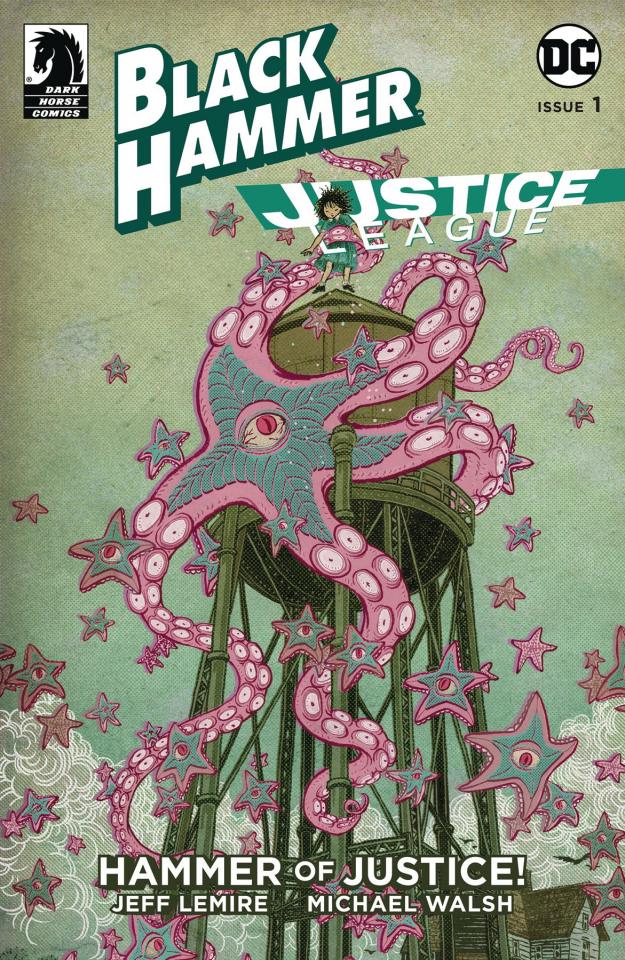 Black Hammer / Justice League #1 (Shimizu Cover)