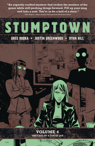 Stumptown Vol. 4: The Case of a Cup of Joe