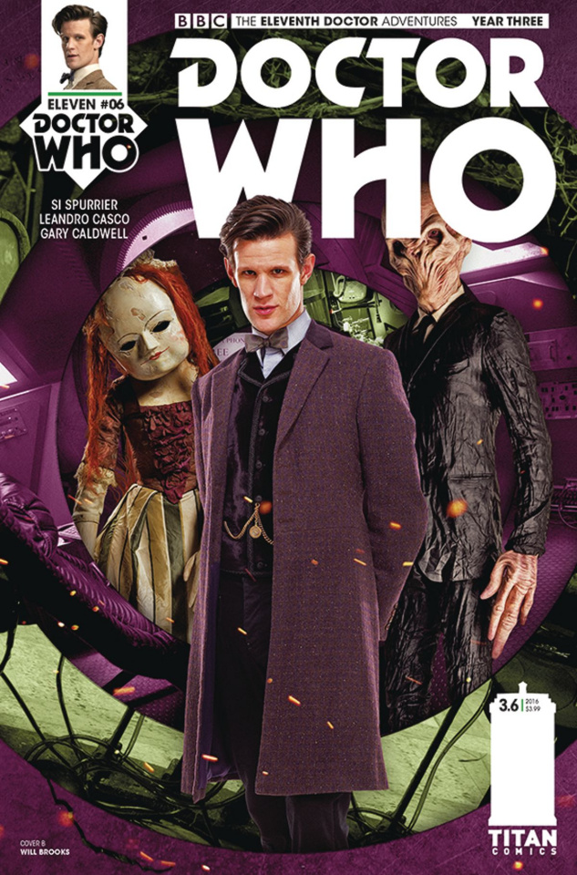 Doctor Who: New Adventures with the Eleventh Doctor, Year Three #6 (Photo Cover)