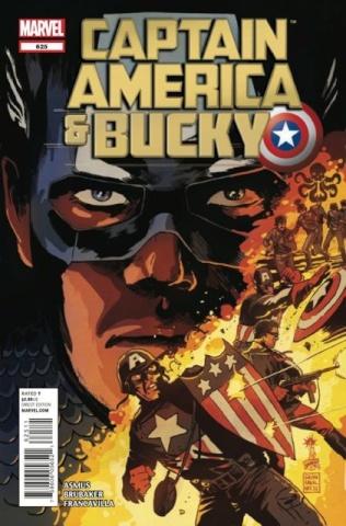 Captain America & Bucky #625