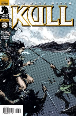 Kull: The Hate Witch #3 (Cobiaco Cover)