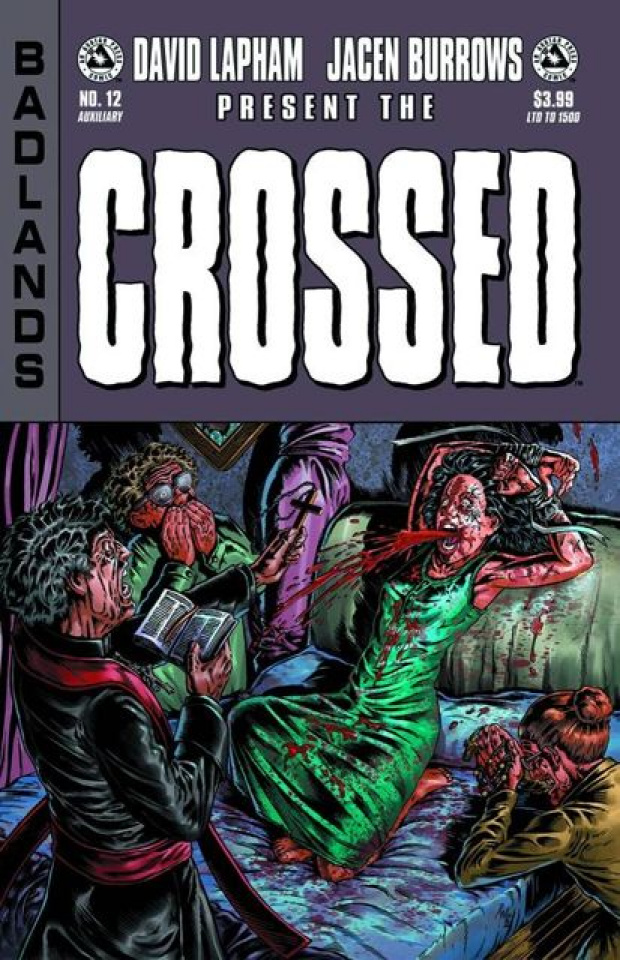 Crossed: Badlands #12 (Auxiliary Edition)