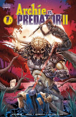 Archie vs. Predator II #1 (Tucci Cover)