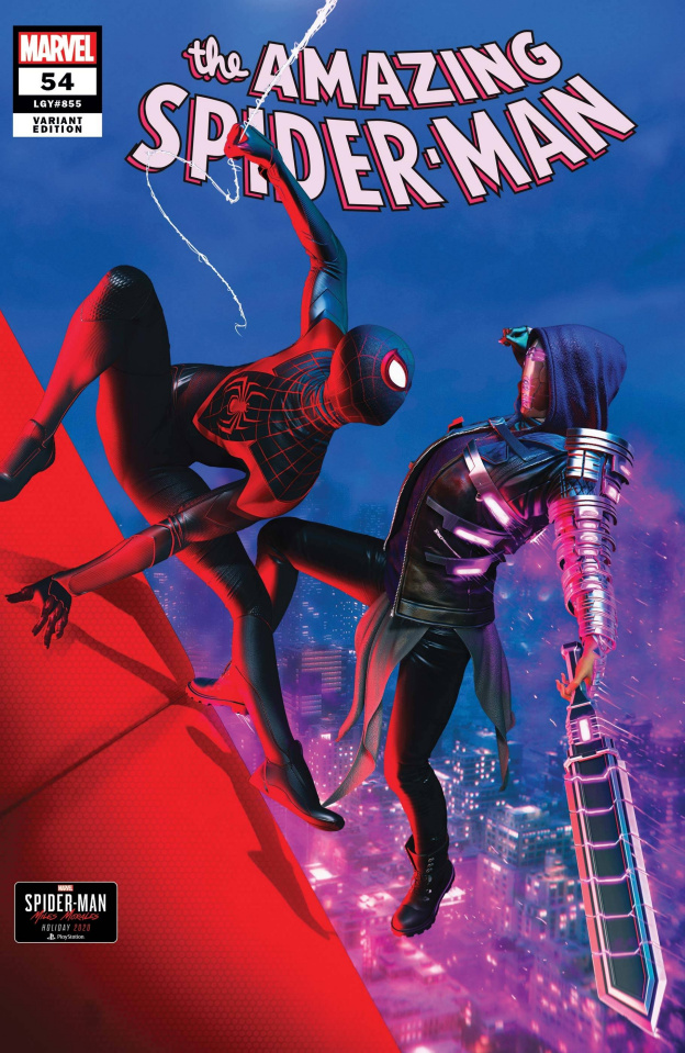 The Amazing Spider-Man #54 (Goulden Spider-Man Miles Morales Cover)