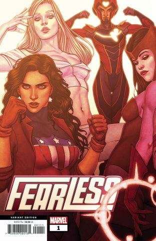 Fearless #1 (Frison Connecting Cover)