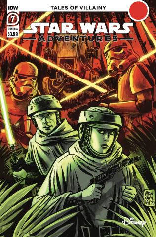 Star Wars Adventures #7 (Francavilla Cover)
