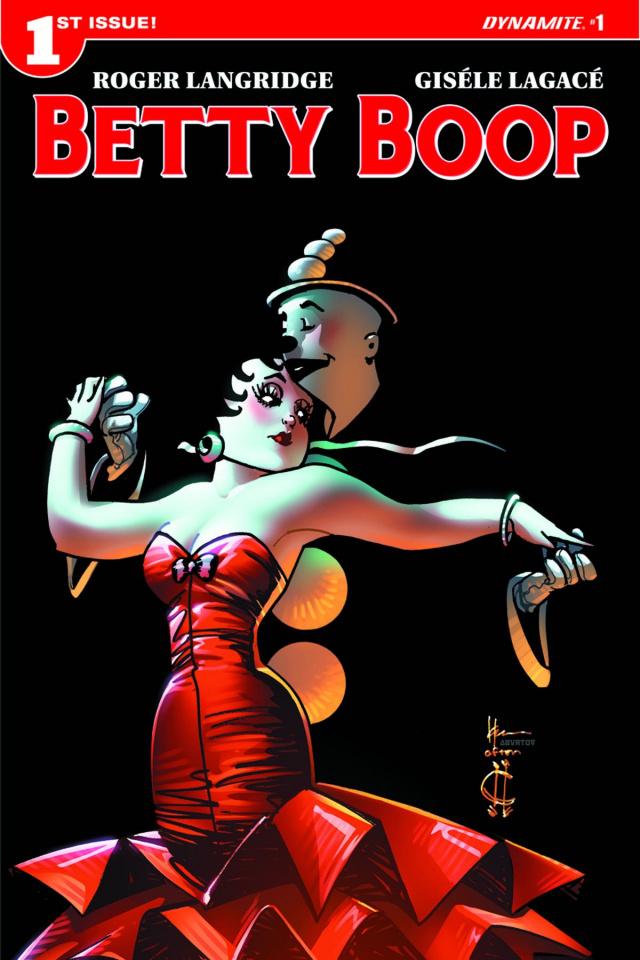 Betty Boop #1 (Chaykin Cover)
