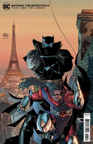 Batman: The Detective #3 (Andy Kubert Card Stock Cover)