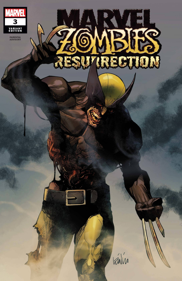 Marvel Zombies: Resurrection #3 (Leinil Francis Yu Cover)